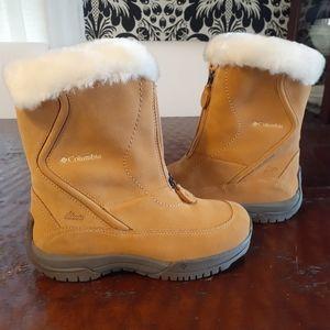 Columbia Waterproof Fur-trimmed Winter Boots